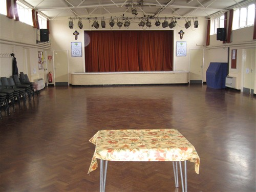 Church Hall Stage